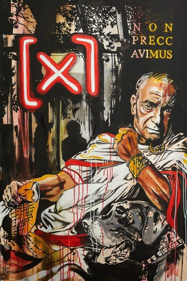 Валентин Гафт в образе Понтия Пилата