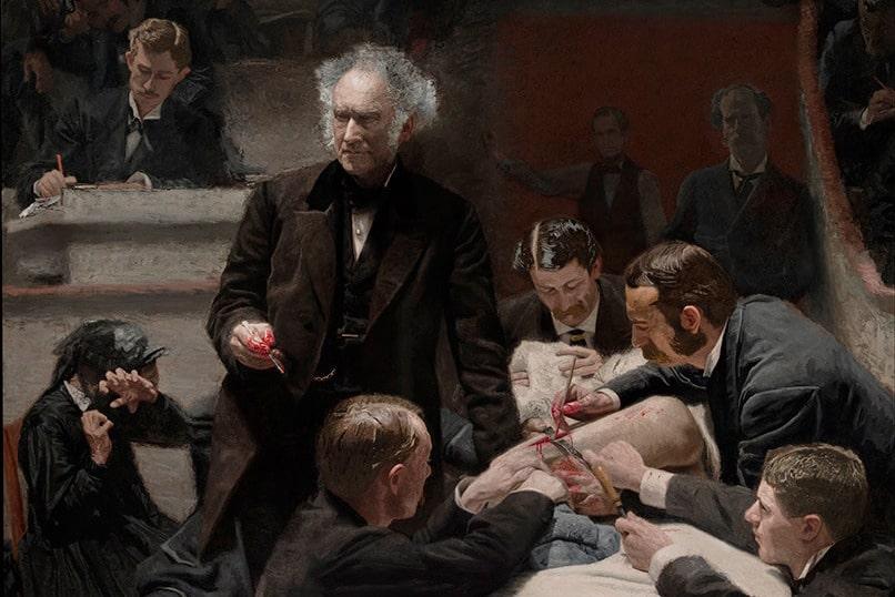 Томас Икинс «Клиника Гросса», 1875 © Художественный музей Филадельфии