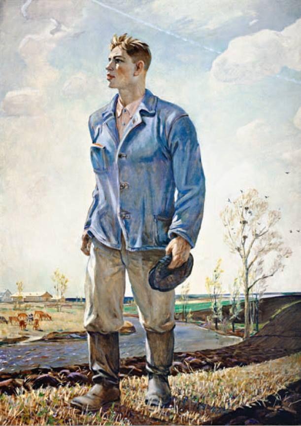 А.А. Дейнека «Тракторист», 1956 © ГРМ