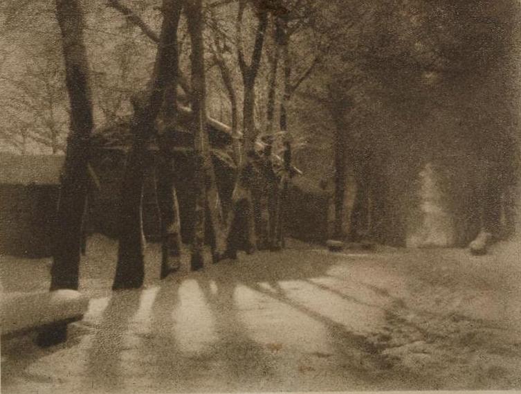 Н.П. Андреев «В городском парке», 1930-е © ГТГ