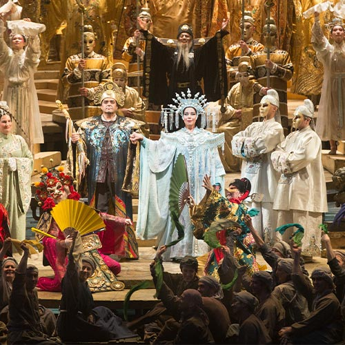 «Турандот» Джакомо Пуччини на сцене Метрополитен оперы © МЕТ