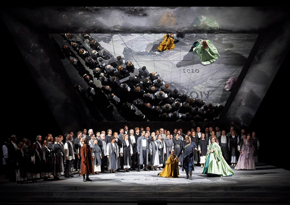 Сцена из оперы «Идоменей» © Wiener Staatsoper / Michael Pöhn