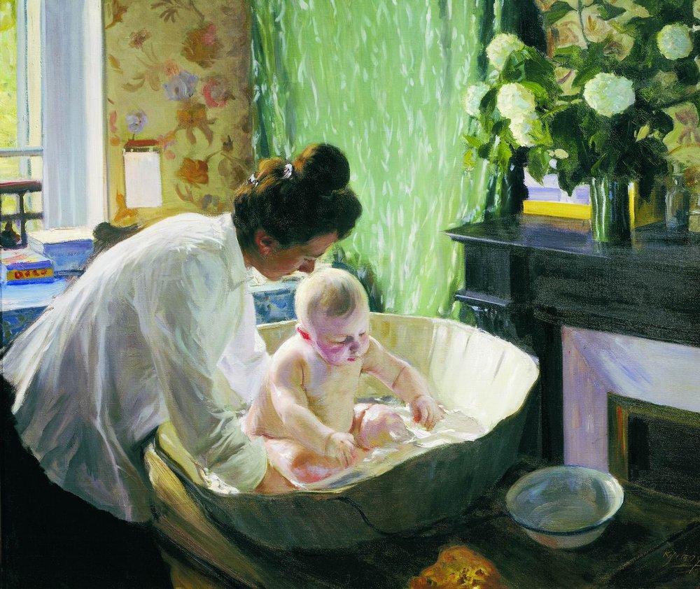 Б.М. Кустодиев «Утро», 1904
