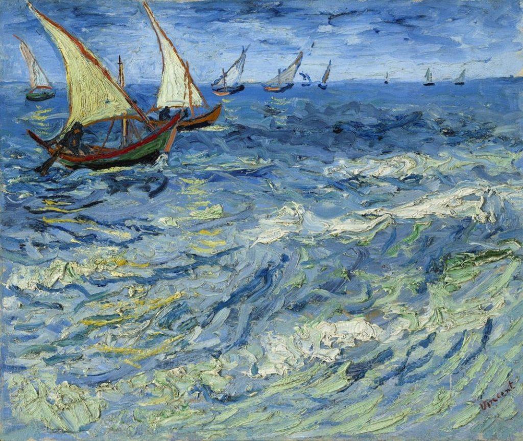 Винсент Ван Гог «Морской пейзаж в Сен-Мари», 1888 © ГМИИ им. Пушкина, Москва