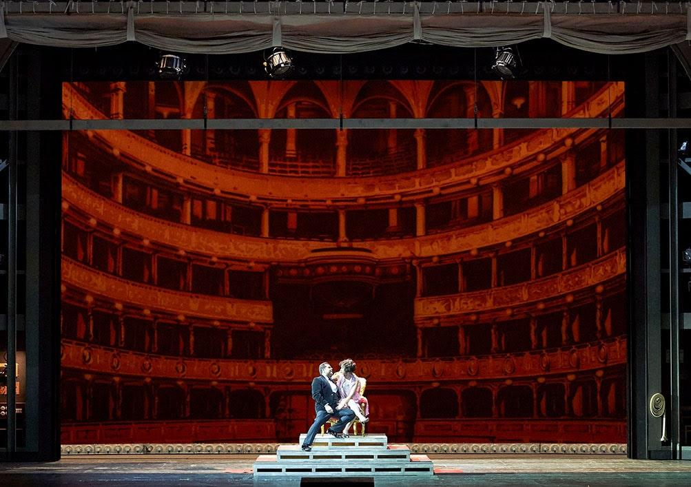 Сцена из оперы «Средство Макропулоса» © Wiener Staatsoper / Michael Pöhn