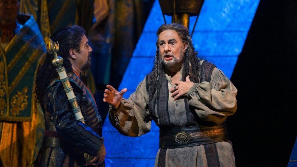 Опера Джузеппе Верди «Набукко» © Wiener Staatsoper