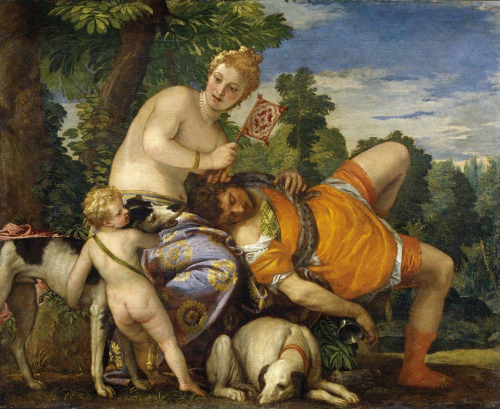 Паоло Веронезе «Венера и Адонис», ок. 1580 © Museo del Prado