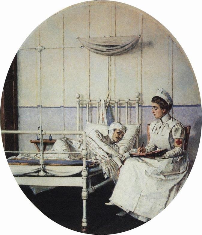 В.В. Верещагин «Письмо к матери», 1901 © Ярославский художественный музей