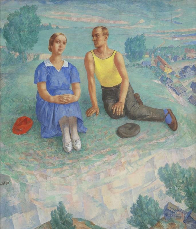 К. С. Петров-Водкин «Весна», 1935 © ГРМ