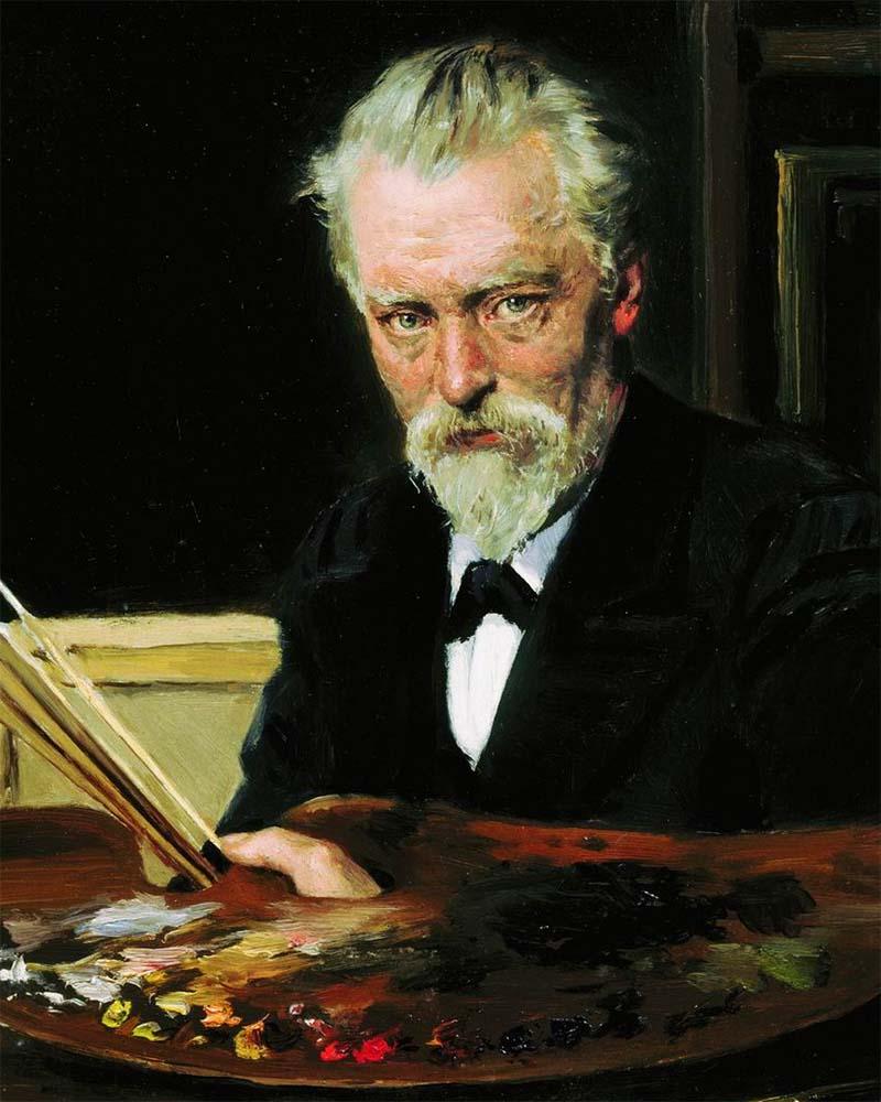 В. Е. Маковский «Автопортрет», 1905 © Государственная Третьяковская галерея