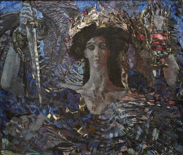 М.А. Врубель «Шестикрылый Серафим», 1904 © ГРМ