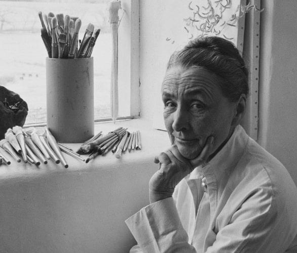 Джорджия О'Кифф, 1953 © Laura Gilpin / Georgia O'Keeffe Museum