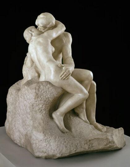 Огюст Роден «Поцелуй» © Tate Modern