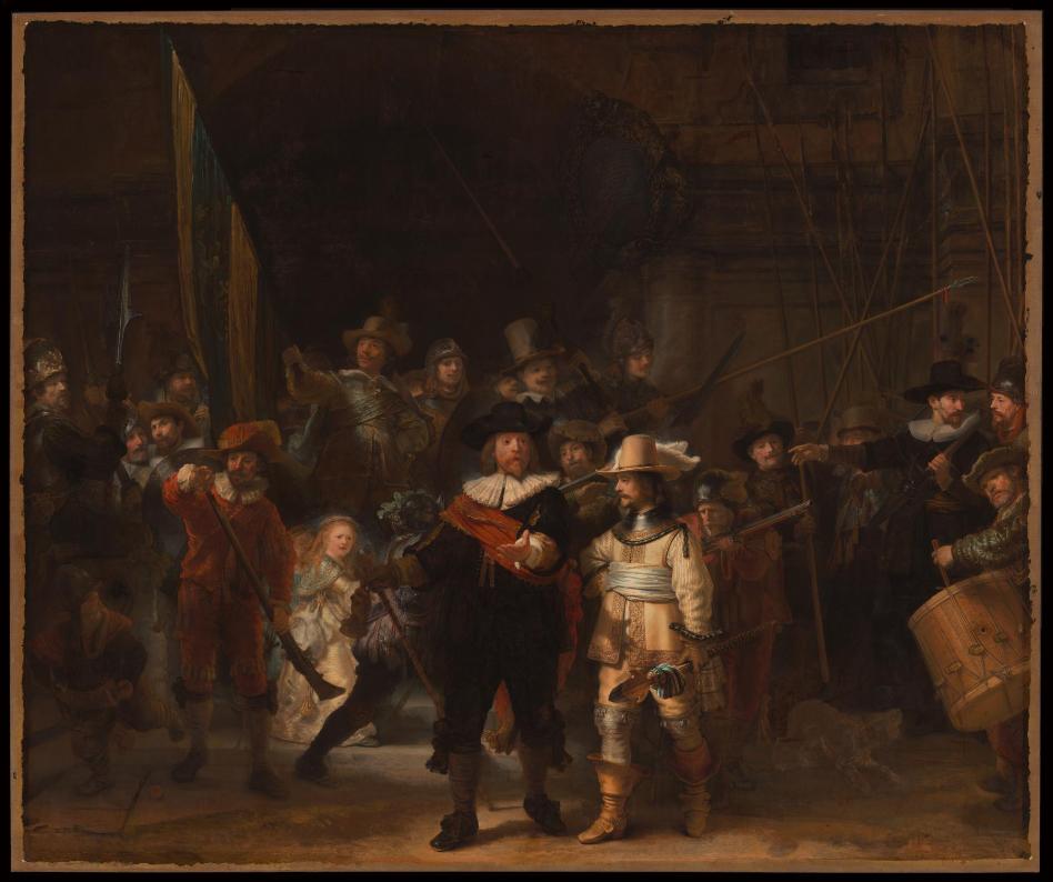 Ре́мбрандт Ха́рменс ван Рейн «Ночной дозор», 1642 © Rijksmuseum
