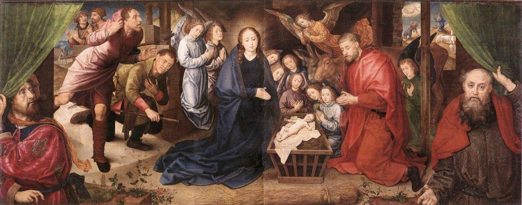 Хуго ван дер Гус «Рождество Христа», ок. 1480 © Staatliche Museen zu Berlin, Gemäldegalerie / Dietmar Gunne